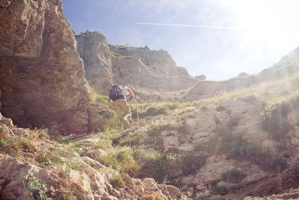 randonnée falaise dent de crolles