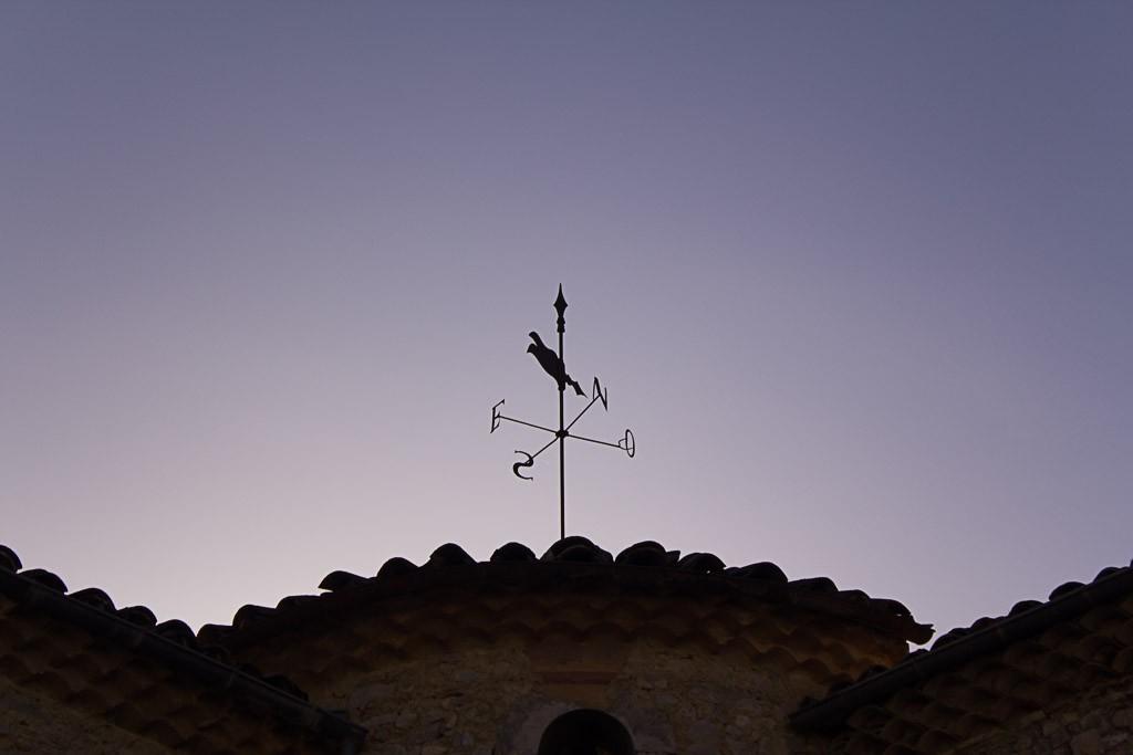 girouette du monastère de sainte croix