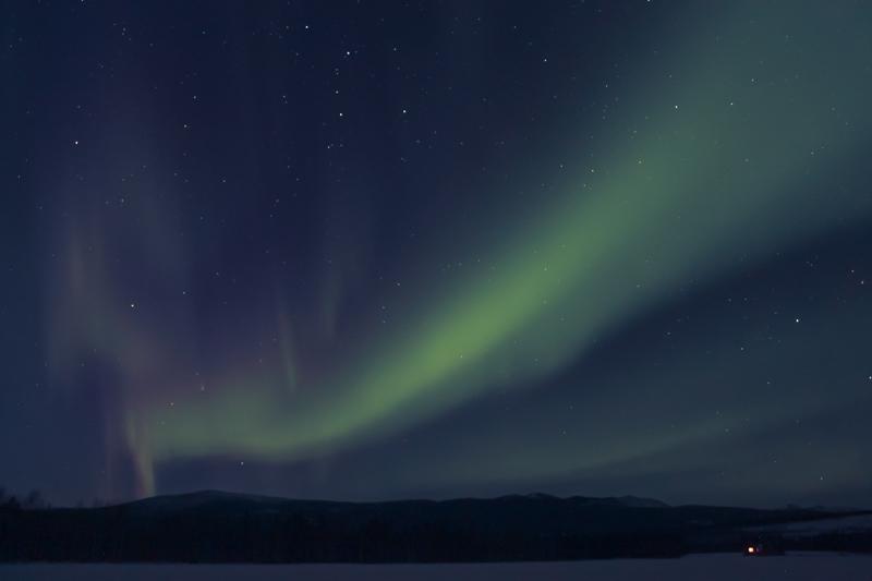 aurores boreales yukon canada