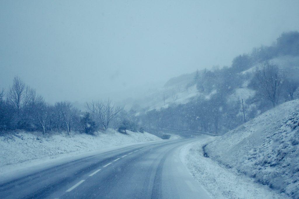 route enneigée baronnies provençales
