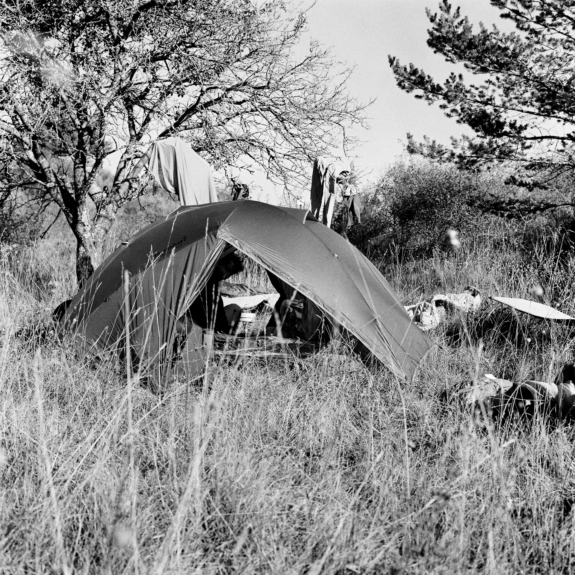 camping sauvage vallée de l'oule