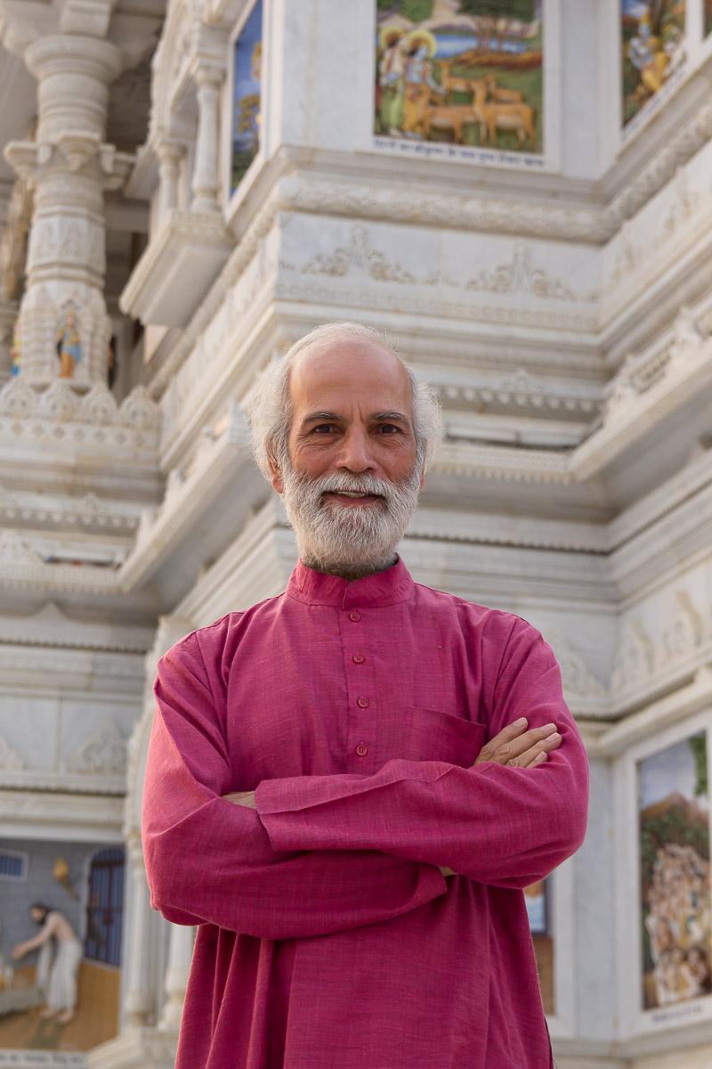 professeur de yoga inde